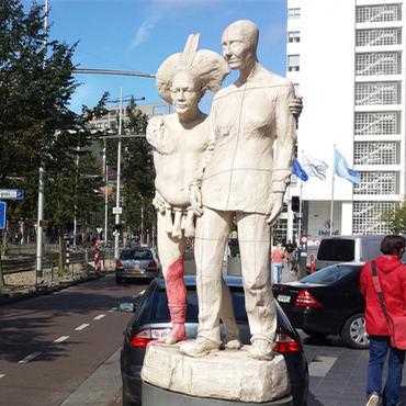 Center of The Hague: Spui – Grote Markstraat – Kalvermarkt